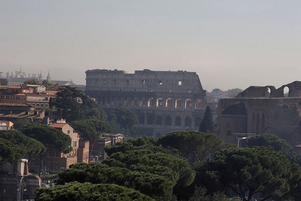 Downtown Ancient Rome
