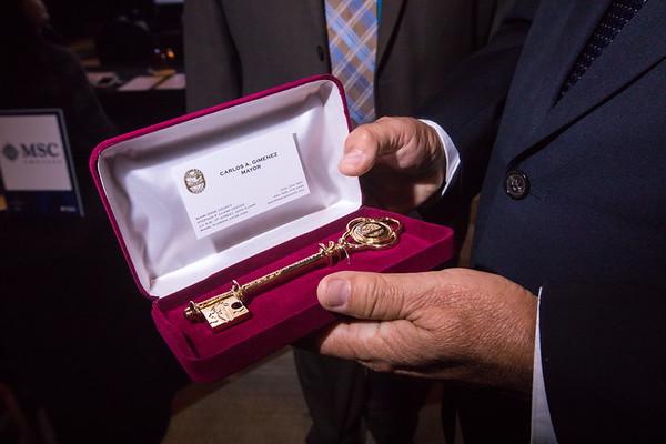 2017 Beacon Council Key Ceremony