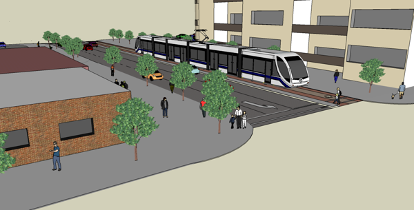 Downtown LRT - Recommended Concept Plan