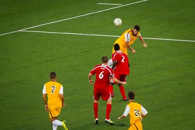 NKU Men's Soccer vs UC 8-29-2014