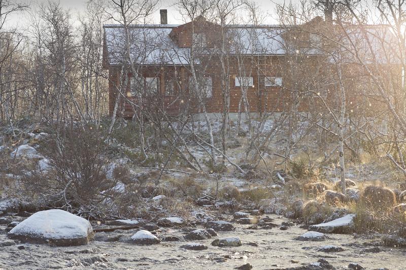 First Snow in Kilpisjärvi