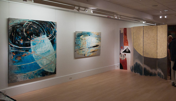 Paintings & Screens - Exhibition by Carole Bolsey at the Thayer Gallery Sept 14 to Oct 14 2011