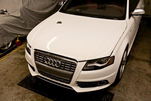 2010 Audi S4 White