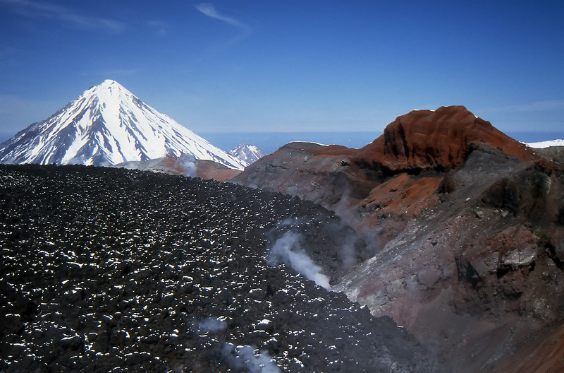 Avachinsky Volcano's caldera - Kamchatka, Russian Federation - Summer 1993