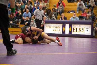 Badger wrestling v. Elkhorn
