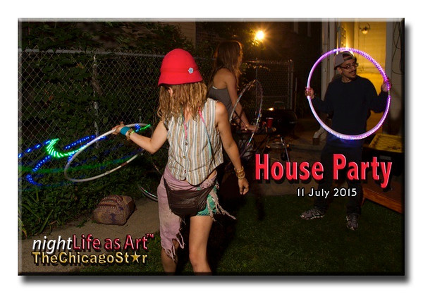 11 July 2015 House Party