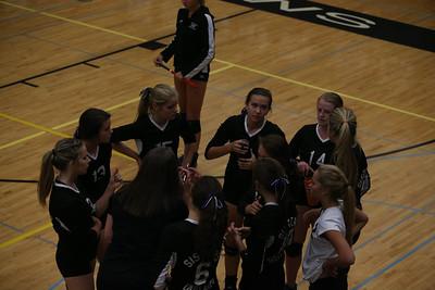 Outlaw JV2 Volleyball vs Elmira 9-18-14