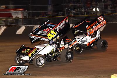 Volusia Speedway Park - All Star Sprints - 2/6/19 - Paul Arch