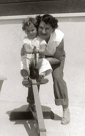 Shirley Jacobs and Phyllis Jayne Mirsky, ca. 1951