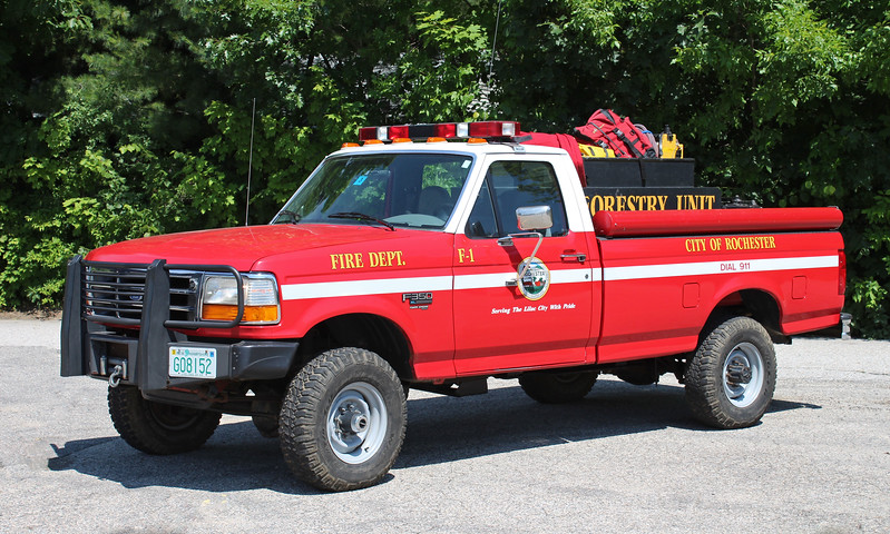 Forestry 1 1996 Ford F-350 125 / 300