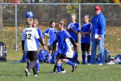 Youth Soccer - Lodi Ligers - Oct 18, 2009