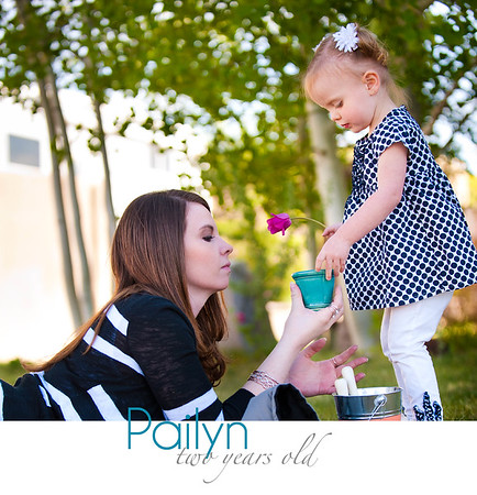 Pailyn Two Years Book