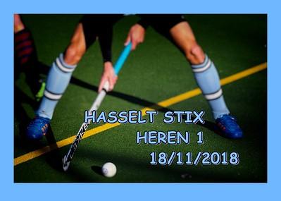 HASSELT STIX Heren 1  18/11/2018