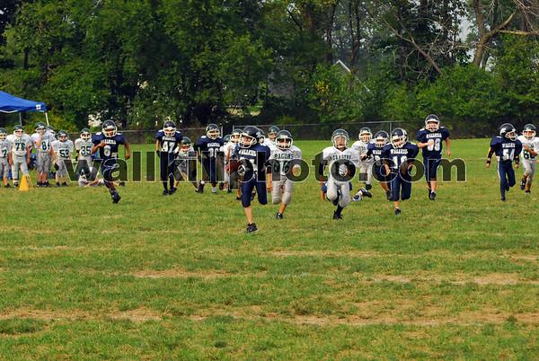 Wallkill Lightning Panthers vs Cornwall Silver - Football - 9-9-07