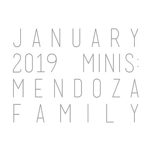 January 2019 Minis: Mendoza Family