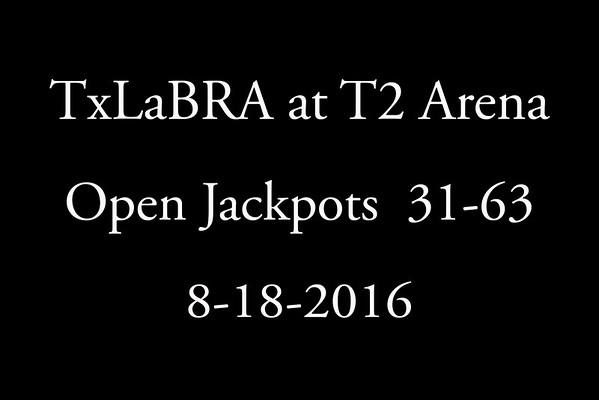 8-18-2016 Open Jackpots  31-63