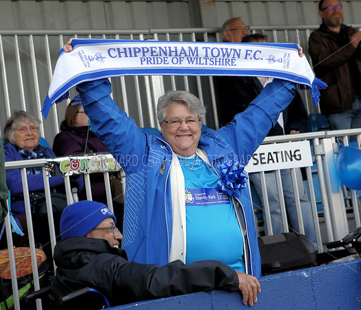 CHIPPENHAM TOWN V ST NEOTS TOWN MATCH PICTURES 15th April 2017