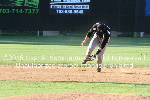 vs. Vienna River Dogs, 6/20/2015, The Game