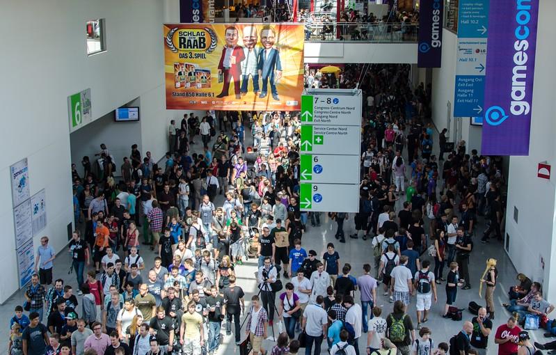 Crowd @ Gamescom 2012