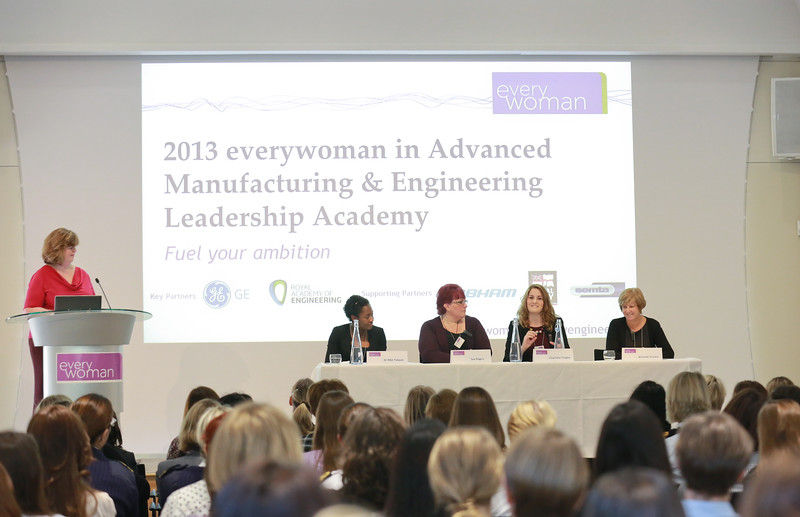 Everywoman in Advanced Manufacturing & Engineering Leadership Academy. 14th November 2013. Royal Academy of Engineering, London.