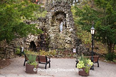 Lourdes Grotto, Holy Hill, Washington County, Wisconsin