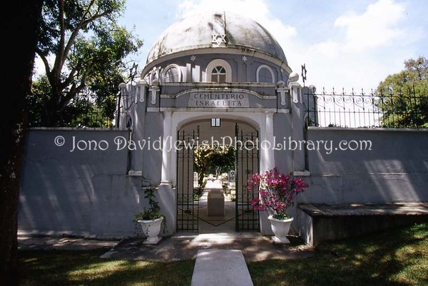 GUATEMALA, Guatemala City. Jewish sector, Cementerio General de Guatemala City. (2008)