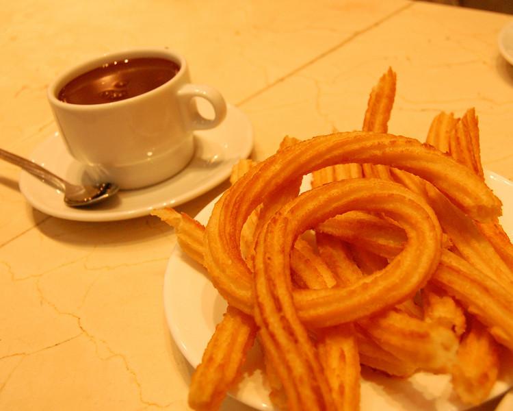 Chocolate & Churros - Madrid, Spain
