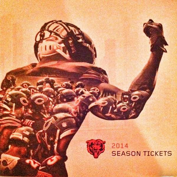 Don't let the 90-degree weather fool you #Chicago. The time is near... cc @jlarrison #bears #gobears