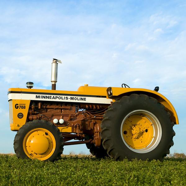 Minneapolis-Moline Farm Tractors