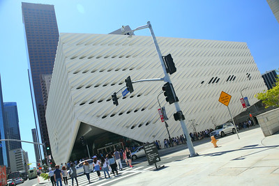 The Broad Museum in LA