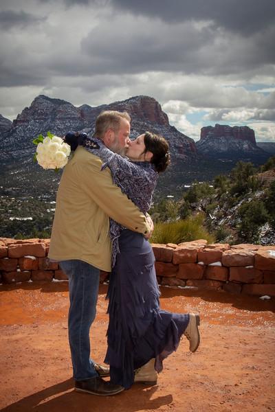 Helen & Kevin's Sedona Wedding