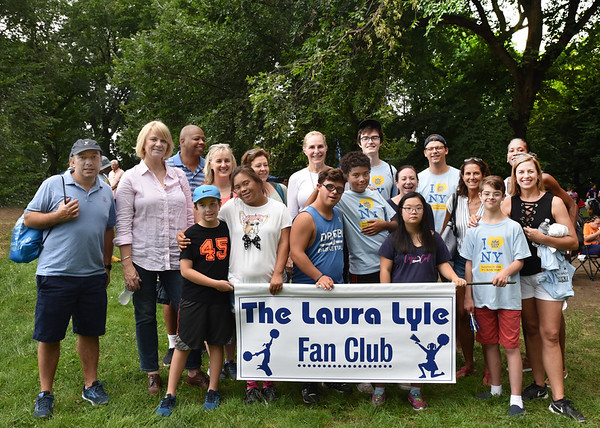 Sept 15, 2018 Laura Lyle Fan Club and the 2018 NYC Buddy Walk!