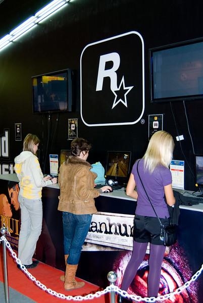Rockstar games on Igromir 2008