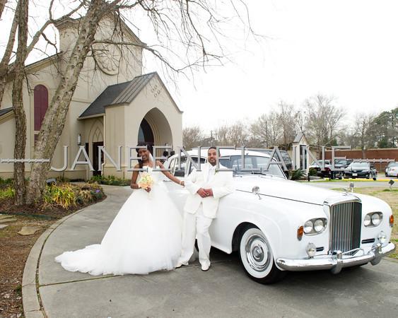 Shameka and Chris Wedding