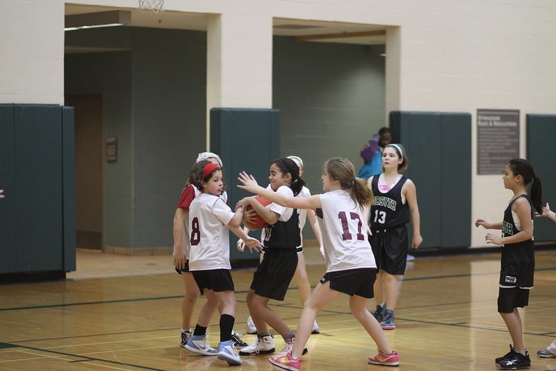 4th Grade Basketball 2-13-2010 Thompson