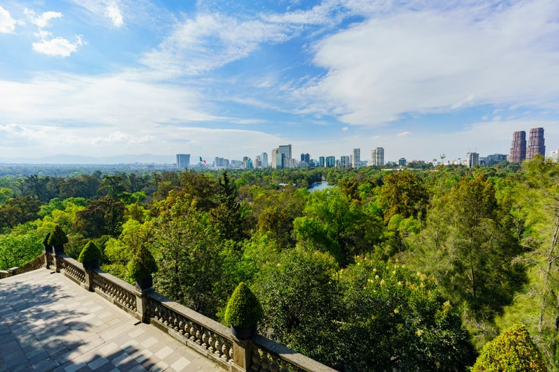 Bosque de Chapultepec - a stop on this Mexico City itinerary