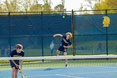 Boys Varsity Tennis vs. Collegiate School
