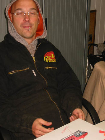 TV opname Rob kamphues Warneton 2005