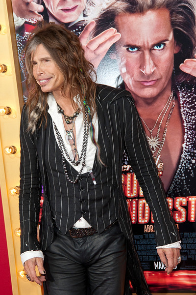 HOLLYWOOD, CA - MARCH 11: Musician Steven Tyler attends the premiere of Warner Bros. Pictures' 'The Incredible Burt Wonderstone' at TCL Chinese Theatre on Monday, March 11, 2013 in Hollywood, California. (Photo by Tom Sorensen/Moovieboy Pictures)
