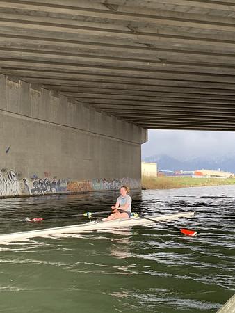 April Rowing