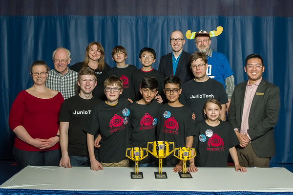 Award Photos - 2019 First Lego League