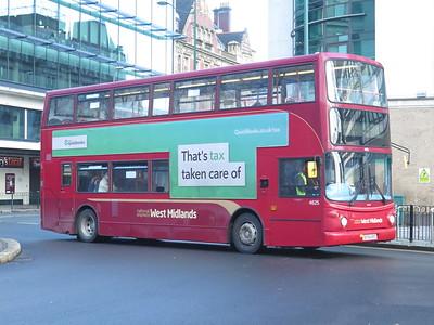 Birmingham Buses Feb 2021