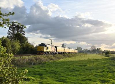 Anglia Class 37s. 25/04/18 - 28/04/18