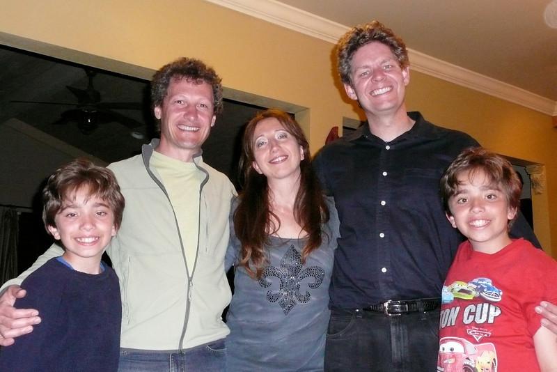 Visiting Eliana and David in Gilroy
