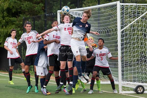 St. Andrews Episcopal School Boys Varsity Soccer vs Potomac School