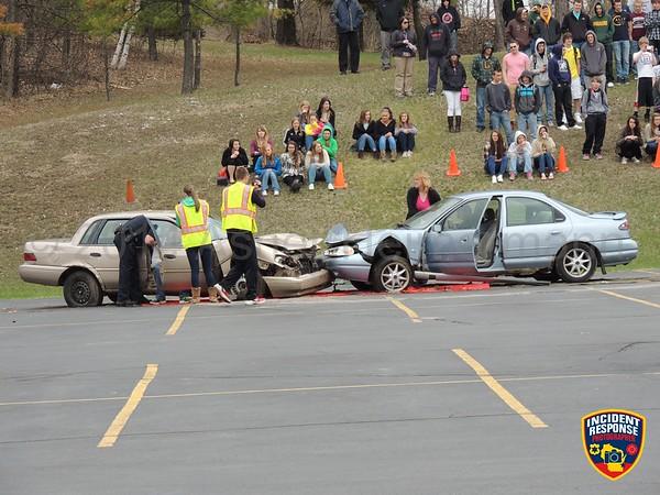Elkhart Lake Mock Crash on May 1, 2014