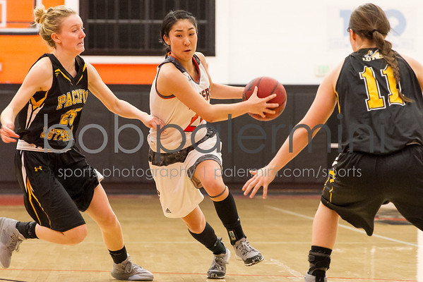 Oxy Women's Basketball vs Pacific Lutheran 12-31-15