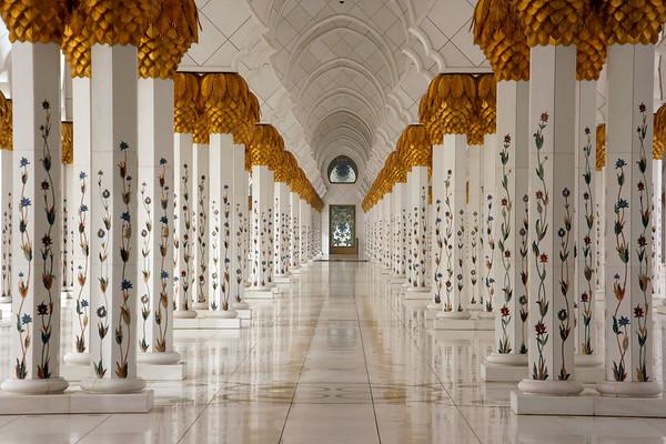 Sheikh Zayed mosque, Abu Dhabi - AE024