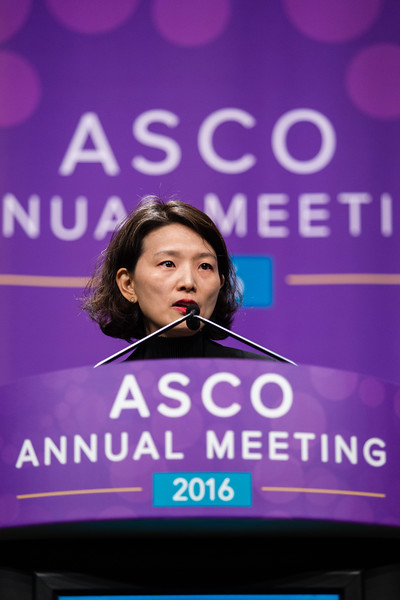 Jeeyun Lee, MD, PhD, reviews the current status of targeted therapy in upper gastrointestinal tract cancer during HER2, VEGFR, and Beyond: Genomic Profiling of Upper Gastrointestinal Tract Cancers and the Future of Personalized Treatment
