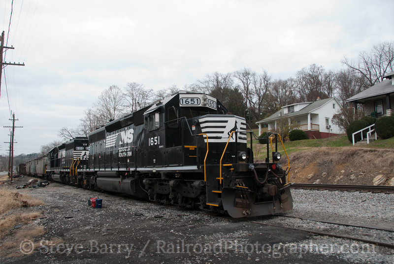 Norfolk Southern<br /> Marion, Virginia<br /> November 21, 2010